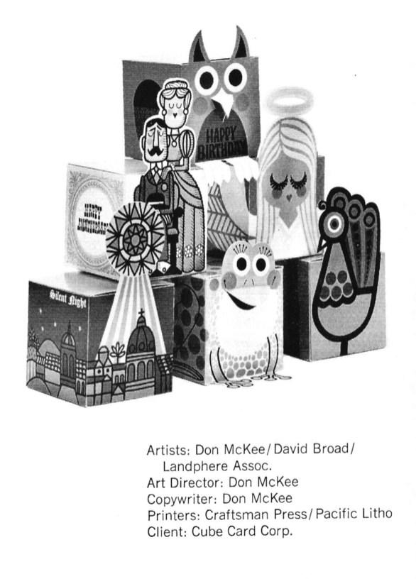 1964 Cube Card Corporation