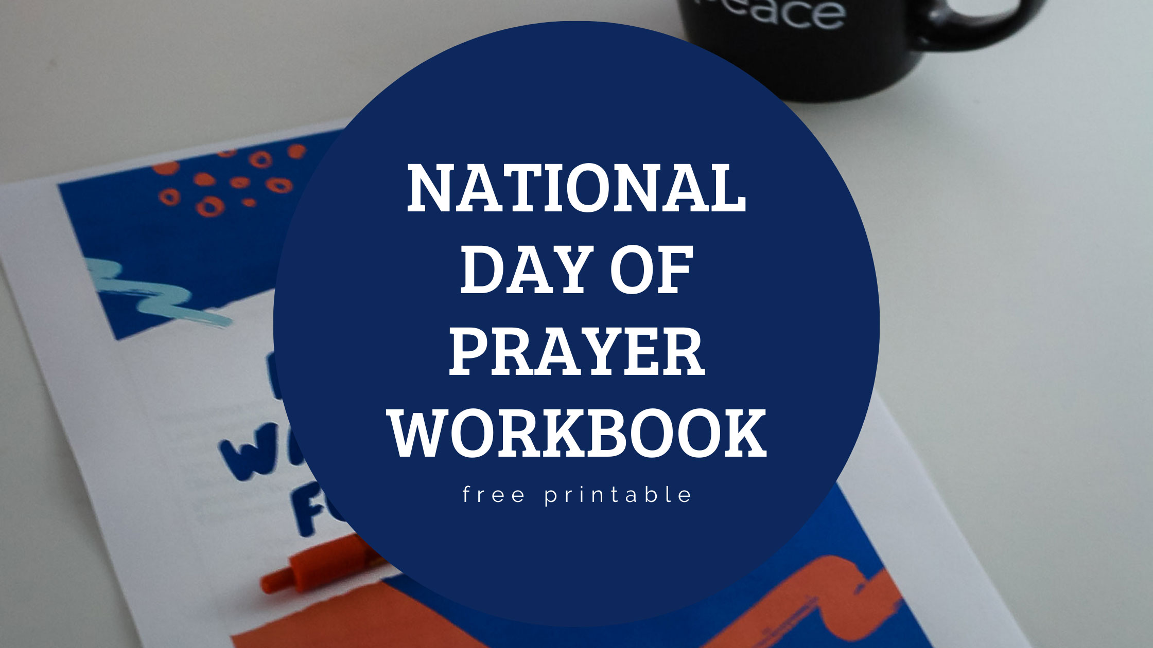 National Day Of Prayer Printable Workbook For Students