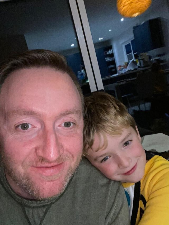 """Dave Allen, 38 & Ralph Allen, 7 - Diabetes type:Both Type 1, though mine came on so late in life that it's commonly known as Type 1.5What symptoms did you have when you were diagnosed? We each had been exceptionally thirsty, tired and had exhibited drastic weight loss prior to diagnosis.How do you manage your diabetes? We each wear Dexcom G6 sensors so we can get our readings on our phones (and I can see Ralph's remotely on my phone) constantly. For insulin delivery, Ralph wears an Omnipod pump whereas I'm keeping it old school with the injection pens. I also try to manage it as best I can through diet and exercise.Have you had to adapt your lifestyle?We were both """"lucky"""" in a sense, because Ralph was diagnosed when he was 3, so he hasn't really ever known much else. Of course, we need the assistance of his teachers and other caretakers when he's not with us. His pump and sensor means he has a minimal amount of kit to have to take with him wherever he goes. As for me, having dealt with Ralph's diabetes for 3 and a bit years prior to my own diagnosis, I was at least in a good position to get on top of management of my blood sugars straight away. Having to carry my kit around is taking some getting used to, and having to inject myself has me thinking twice before reaching for the crisp cupboard but otherwise it is very much business as usual. Oh, unless you count the giant mason jar full of Jelly Babies at my office in case of hypos.Biggest misconception about living with diabetes: There are two that come to mind – Both of which I was guilty of when Ralph was diagnosed. First is that Type 1 has anything to do with prior diet or lifestyle. While a healthy approach to both can help with management, unfortunately no amount of clean livin' could have prevented our diagnoses. Secondly is that it can affect what you can/can't do in your everyday life. I worried Ralph wouldn't be able to play with his mates, play sports, etc. As long as the requisite kit is at hand, and you """