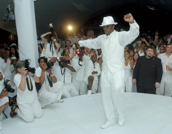 White party - Go full P-Diddy, and hold your own white party. Increase the stakes and make it a 'red wine only' night.