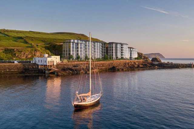 Delgatie Limited's image plans for Port Erin's Marine Station
