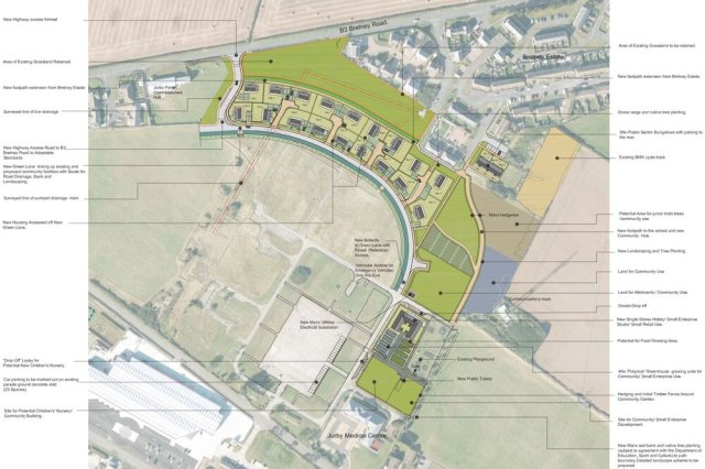 DoI's plans for new homes in Jurby