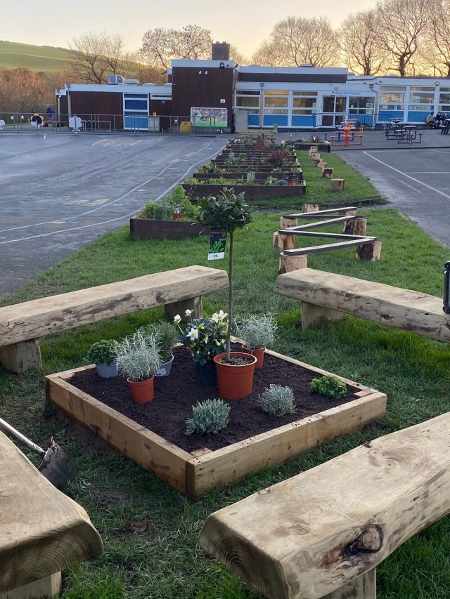 The garden is taking great shape and will benefit the school and wider community once complete.jpg