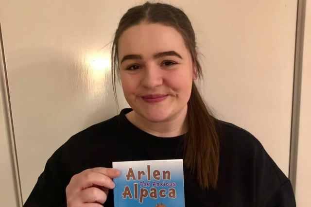 Meet The Alpaca Who's Helping Manx Kids Understand Anxiety