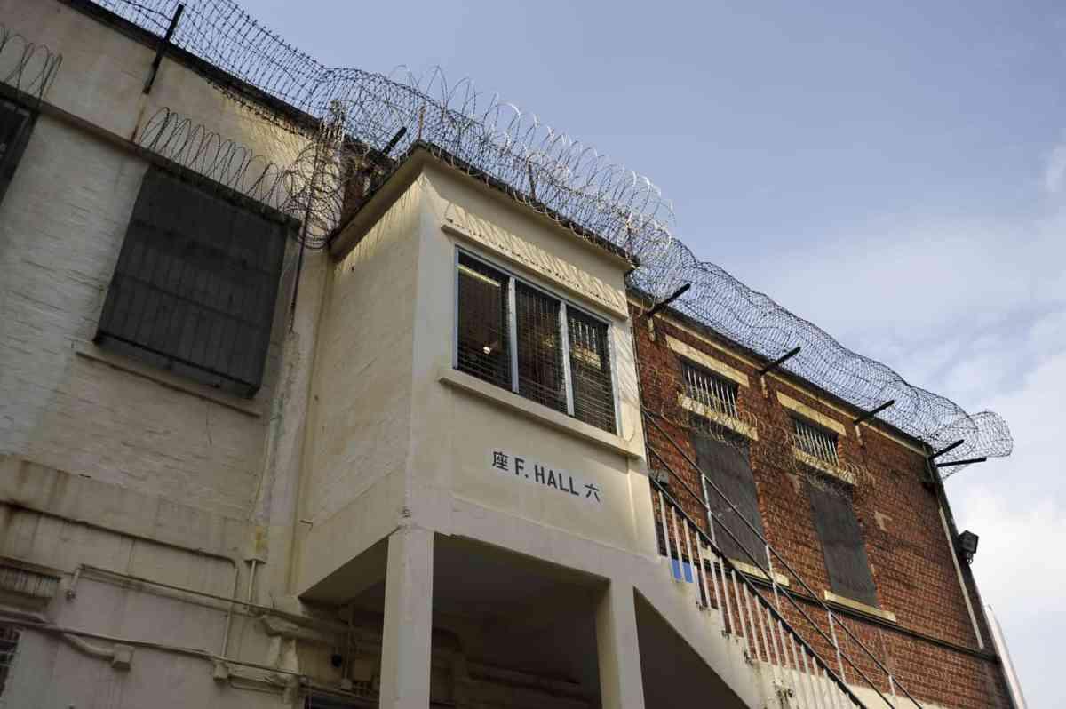 In den Gefängnissen von Hongkong