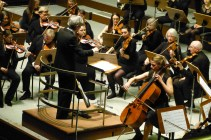 Dirigent Michael Hoyer und Solistin Svea Krahmann