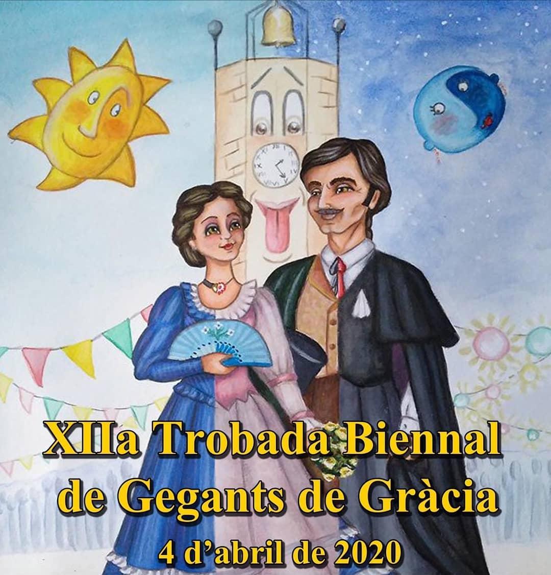 XIIa Trobada Biennal de Gegants de Gràcia
