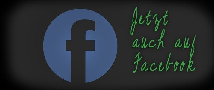 Jetzt auch auf Facebook!