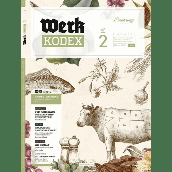 Werk Kodex 2 Titelseite
