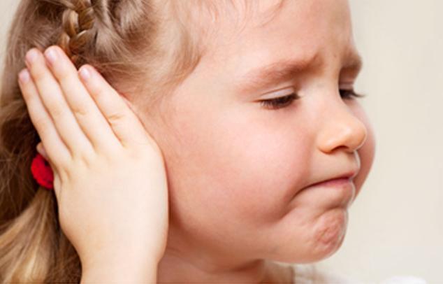 Mitelohrinfektion beim Kind