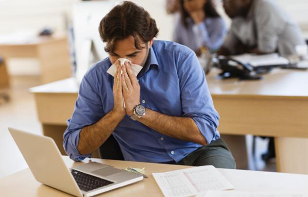 Allergie am Arbeitsplatz