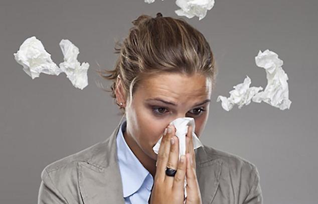 Arbeiten Sie ebenfalls unter Pollenbelastung