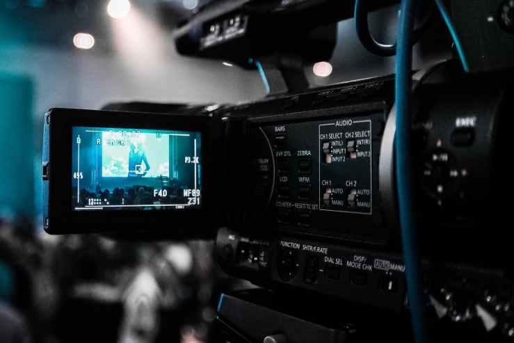 black camera recorder