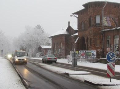 Bf. Leutzsch im Januar 2017