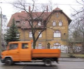 Stötteritzer Bahnhofsgebäude