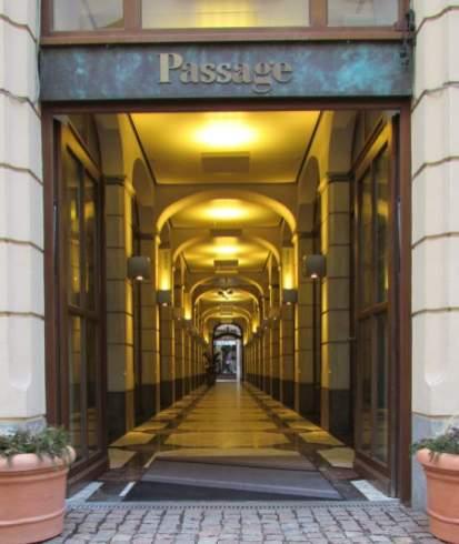Passage im Städtischen Kaufhaus