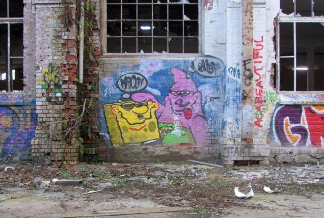 SpongeBob und Patrick in der Maschinenfabrik Swiderski