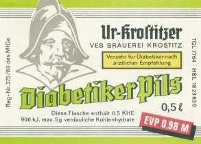 Ur-Krostitzer Diabetiker-Pils