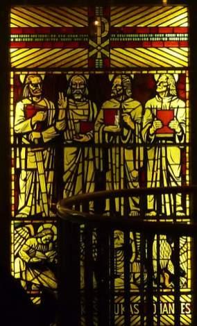 Matthäus, Markus, Lukas und Johannes
