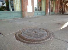 Holzpflaster am Alten Rathaus