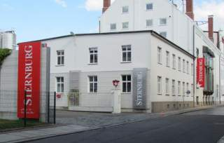 Jetzige Sternburg-Brauerei in Reudnitz