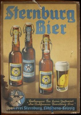 Alte Sternburg-Werbung