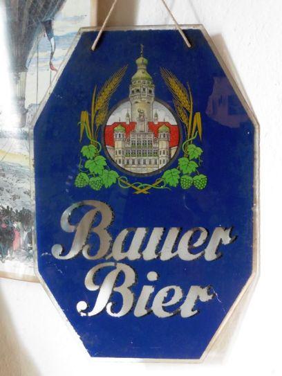 Altes Bauer-Schild (Sammlung Reinhard A. Seydler)