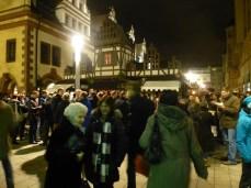 Der Naschmarkt zur Weihnachtszeit