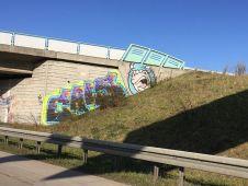 An der Autobahn bei Wiedemar
