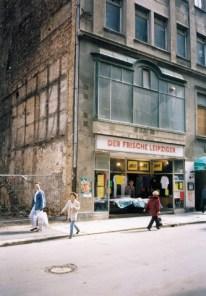 Hainstraße, Anfang der 1990er
