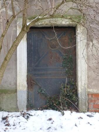 Schlosstür im Kantatenweg