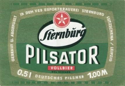 Cerveza Sternburg Pilsator
