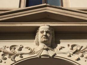 Bachporträt in der Sebastian-Bach-Straße