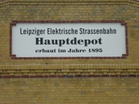 Straßenbahn-Depot
