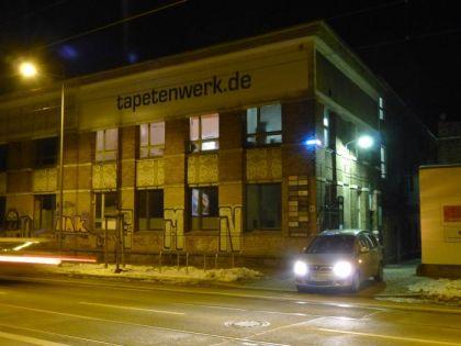 Tapetenwerk in der Lützner Straße