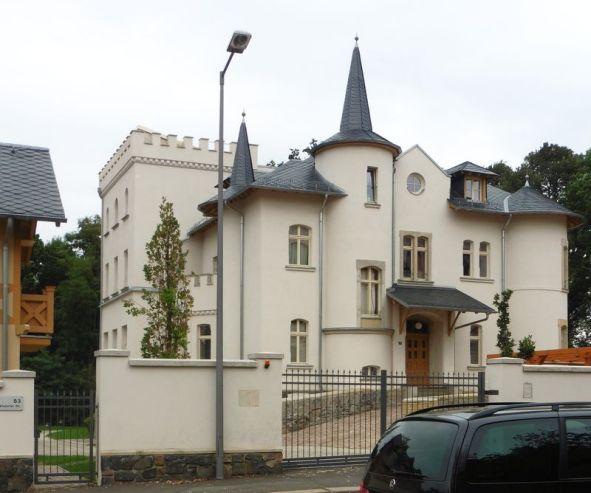 Die Villa Tauchnitz im September 2020
