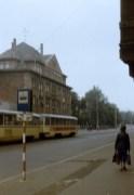 Straßenbahnhof der DSF 1990