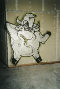 Kotzende Kuh