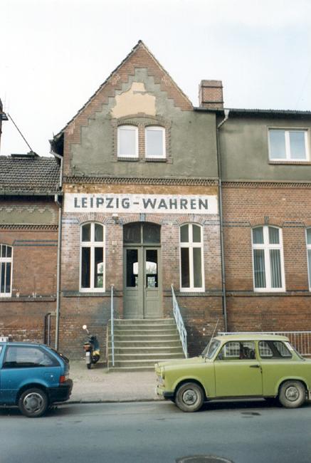 Bahnhof Wahren 1997