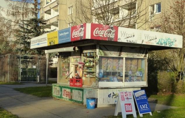 Kiosk an der Lützner Straße