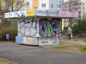 Kiosk an der Ratzelstraße