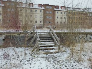 Blick von der Gurkenfabrik zur Kohlenstraße
