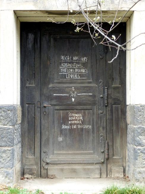 Tür zur Turnhalle