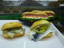 Fischbrötchen und Fisch-Baguettes