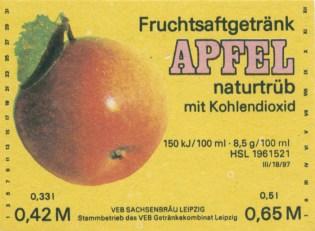 Apfellimo von Sachsenbräu