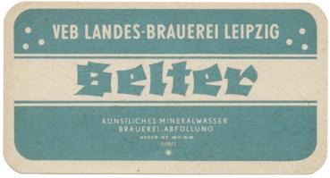 Selterwasser aus der Landes-Brauerei