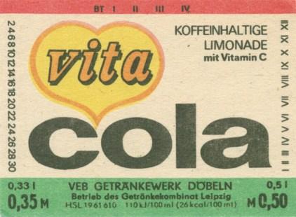 Vita-Cola aus Döbeln