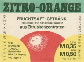 Zitro-Orange aus Torgau