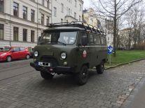 Kleiner Transporter der Sowjetarmee (Buchanka) in Gohlis