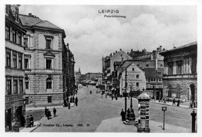 Peterssteinweg 1903
